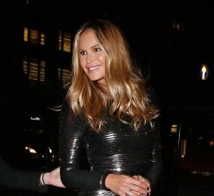 Elle Macpherson à Londres le 28 octobre 2015.