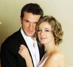 Benjamin Castaldi et Flavie Flament, mariés en 2002 et divorcés en 2008.