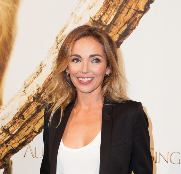 """Claire Keim, très chic lors de la première du documentaire """"Au royaume des singes"""", jeudi 29 octobre."""