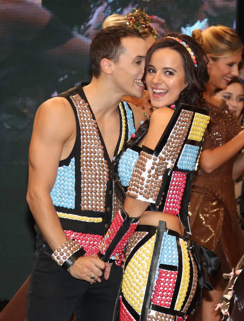 Alizée et Grégoire nagent dans le bonheur.