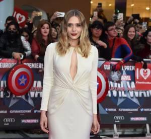 Elizabeth Olsen : divinité sensuelle sur le red carpet de Captain America