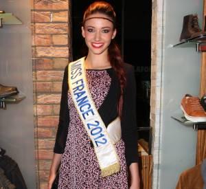 Delphine Wespiser, une ex miss France qui ne se laisse pas oublier.