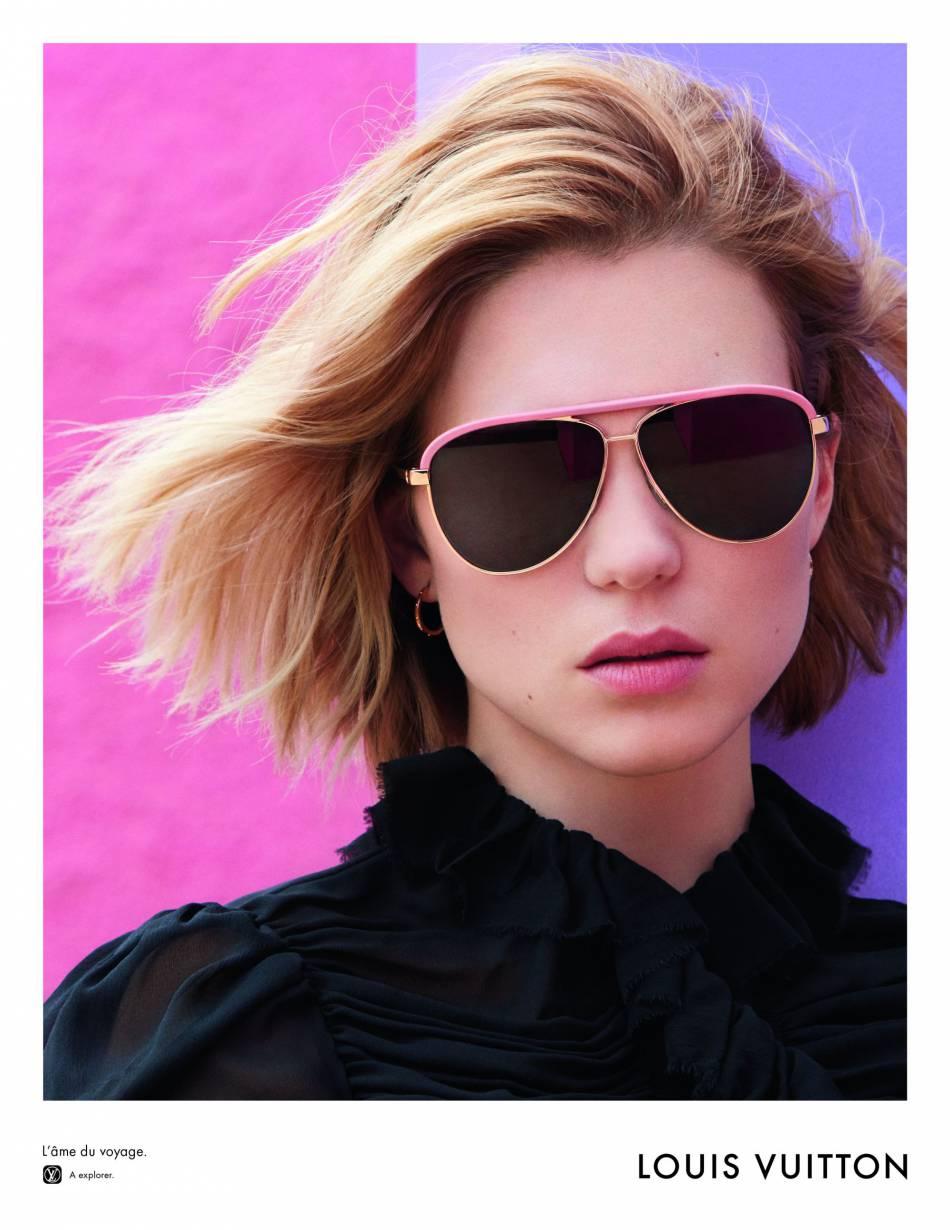 Des sacs mais aussi des lunettes signées Vuitton pour parfaire tous nos looks.