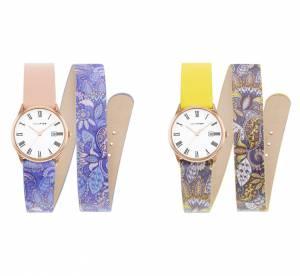 Louis Pion, Laruze, Komono... on ose les bracelets de montres à motifs