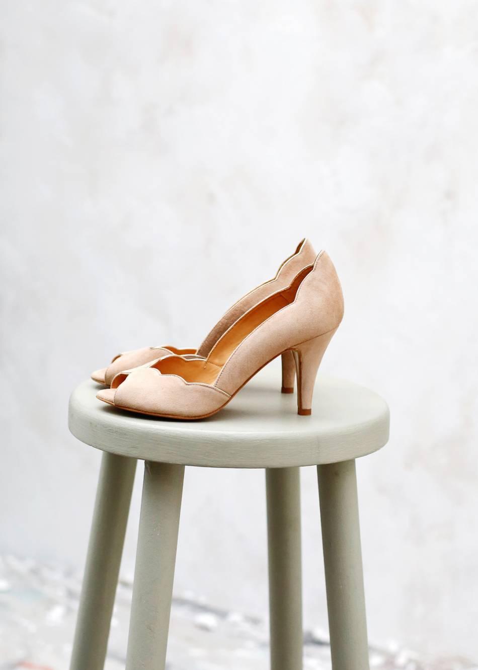 genuine shoes separation shoes various colors Escarpins nude, Sezane, 155€ - Puretrend