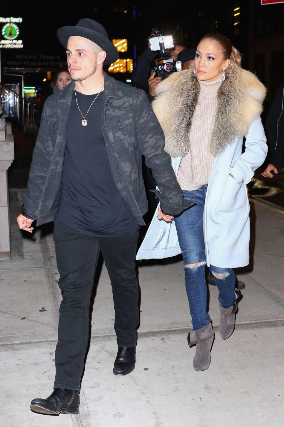 J-Lo est en couple avec Casper Smart depuis 2011.