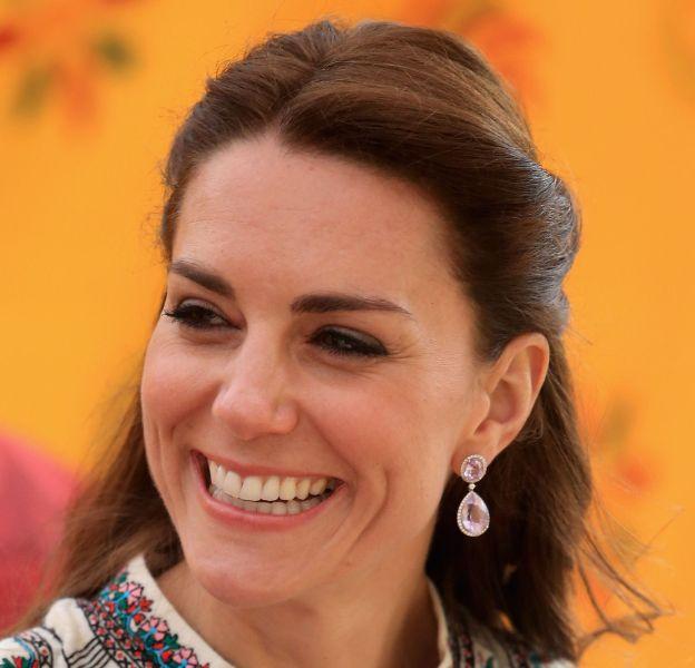 Kate Middleton lors de son voyage au Bhoutan en avril dernier.