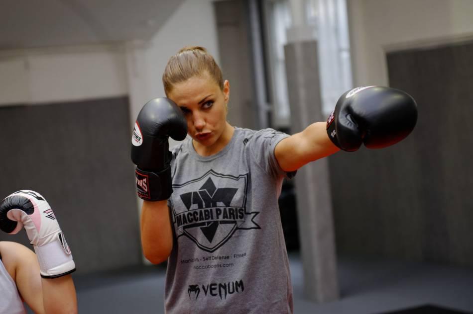 Ariane Brodier est une adepte des sports de combat.