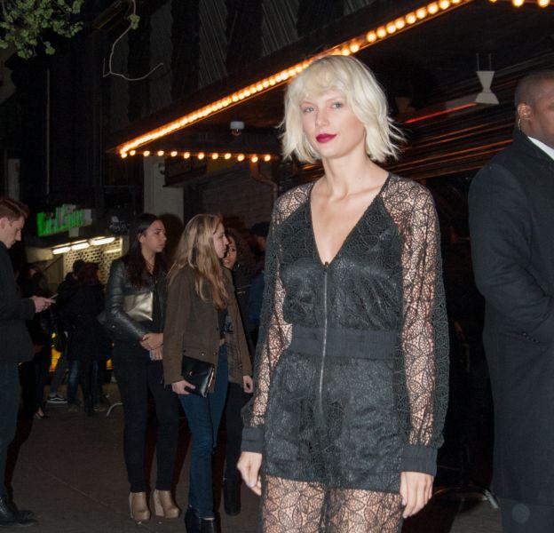 Taylor Swift à New York ce samedi 30 avril 2016.