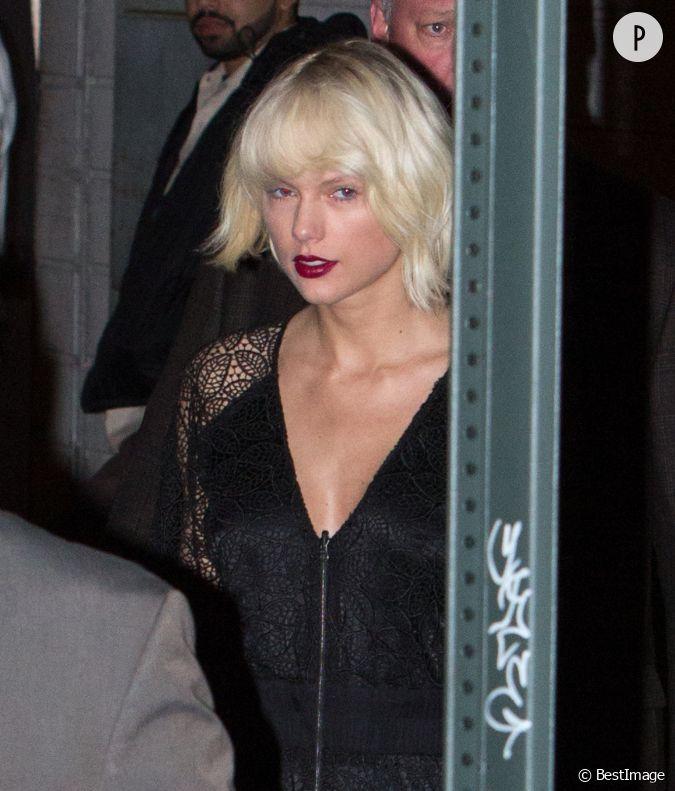 Taylor swift m connaissable elle d voile sa nouvelle for Coupe de cheveux corey taylor