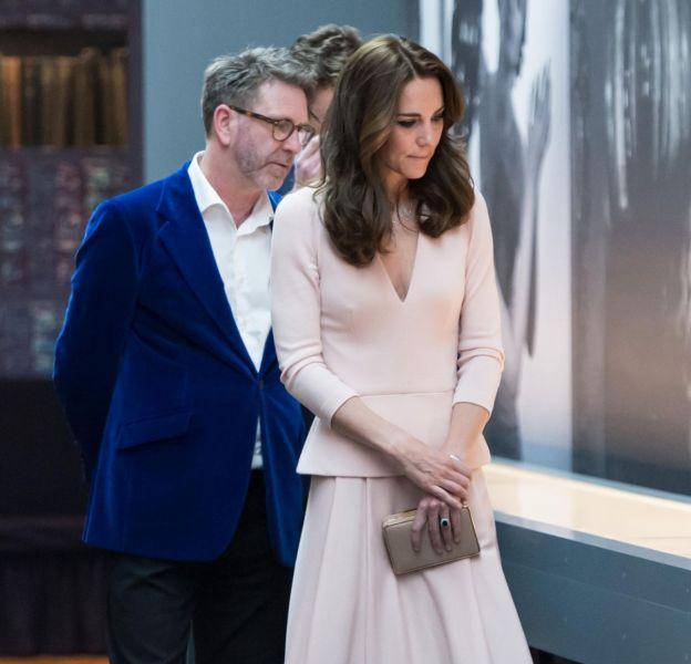 Kate Middleton à la National Portrait Gallery de Londres le 4 mai 2016.