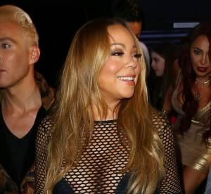 Mariah Carey, diva dans toute sa splendeur dans son filet de pêche