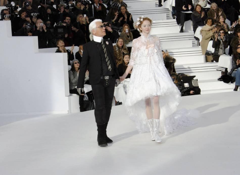 Karl Lagerfeldn'est jamais là où on l'attend.