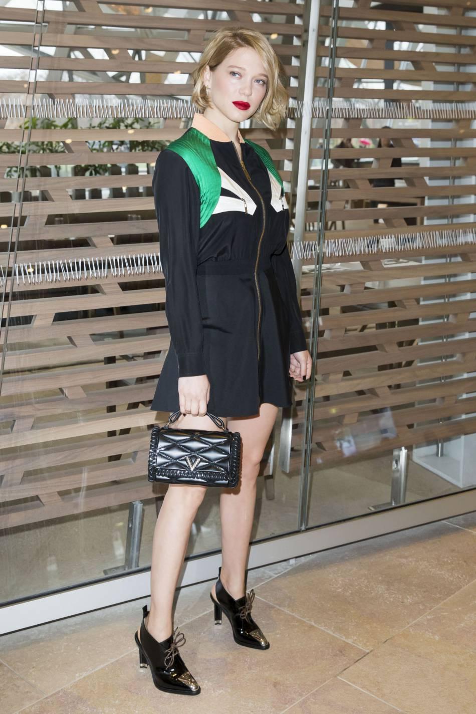 Léa Seydoux est la nouvelle égérie Louis Vuitton.