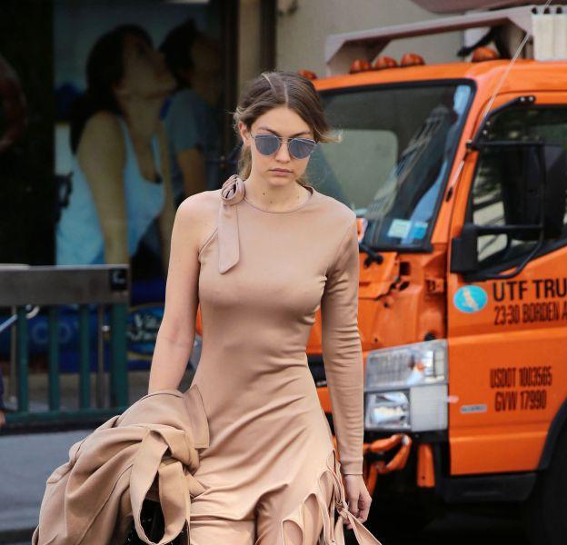 Gigi Hadid à New York ce lundi 9 mai 2016.