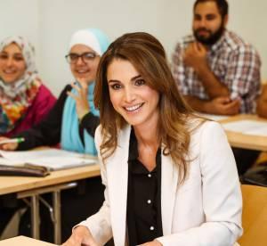 Rania de Jordanie : une reine éblouissante sur les bancs de la fac