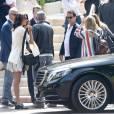 Voiture et hôtel de luxe pour le séjour français du couple de stars.