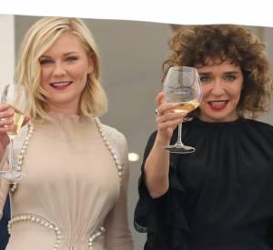 """Prix d'interprétation féminine à Cannes en 2011 pour """"Melancholia"""", Kirsten Dunst fait cette année partie du jury."""