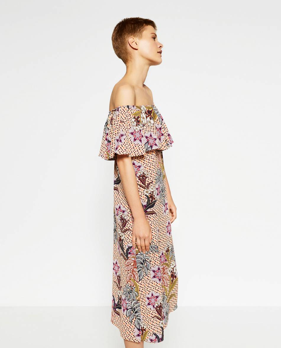 71e59e99961e2 Robe longue Zara, 49,95€ - Puretrend