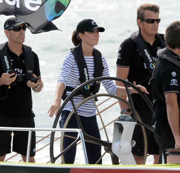 Kate Middleton reprendra bientôt du service sur un voilier.