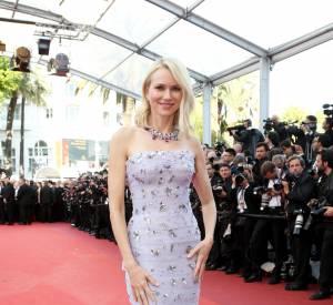 Cannes 2016 : Naomi Watts en bustier Giuseppe Zanotti.