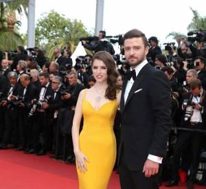 Cannes 2016 : Anna Kendrick en Stella McCartney, au bras de Justin Timberlake.