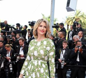 Cannes 2016 : Alice Taglioni et sa robe à l'imprimé végétal.