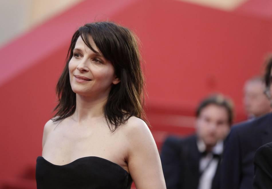 Juliette Binoche, une irréductible du Festival de Cannes.