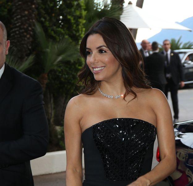 Eva Longoria à Cannes ce jeudi 12 avril 2016.