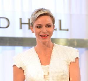 Charlène de Monaco : lumineuse dans un look immaculé, elle charme les Américains