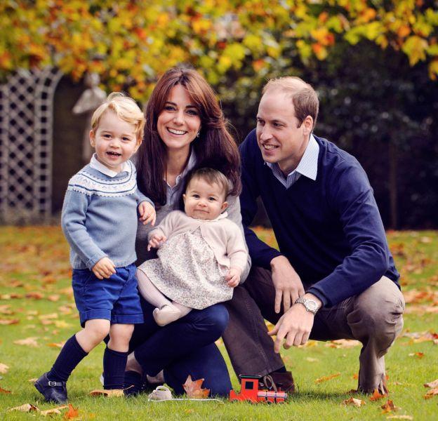 """Selon le prince William, George et Charlotte de Cambridge sont des enfants """"adorables"""" mais """"bruyants""""."""