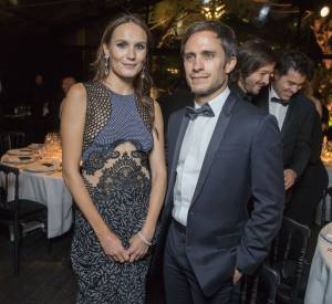"Ana Girardot et Gael Garcia Bernal au dîner ""Women in motion"" à Cannes."