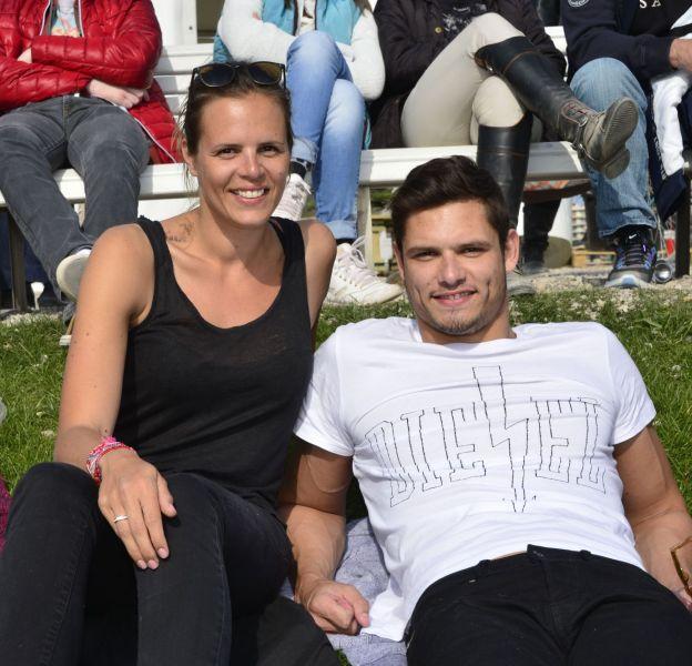 Laure et Florent Manaudou, un duo complice aux championnats d'Europe de natation, à Londres.