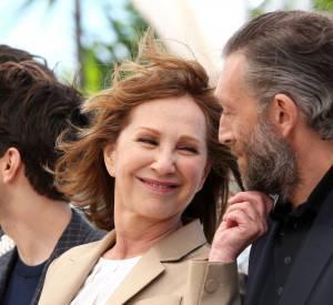 Cannes 2016 : Entre Nathalie Baye et Vincent Cassel, la complicité est visible.
