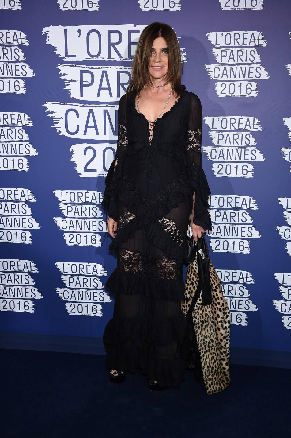 Carine Roitfeld, grande prêtresse de la mode, était de la partie.