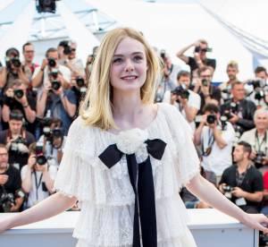 """Cannes 2016, Elle Fanning : poupée délicate et sensuelle pour """"The Neon Demon"""""""