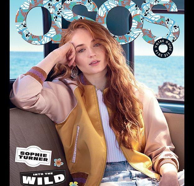 Sophie Turner est la cover girl du guide estival 2016 de la marque Asos.