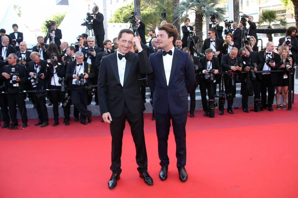 """Gad Elmaleh et Kev Adams étaient aussi présents sur le tapis rouge pour """"Elle""""."""
