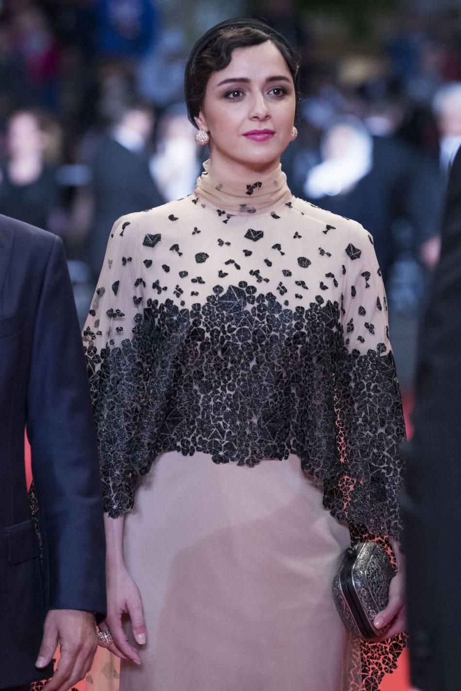 Taraneh Alidoosti a opté pour une robe originale.