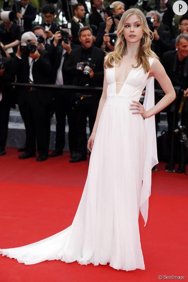 Erin Moriarty à la cérémonie de cloture de la 69eme édition du Festival de Cannes.