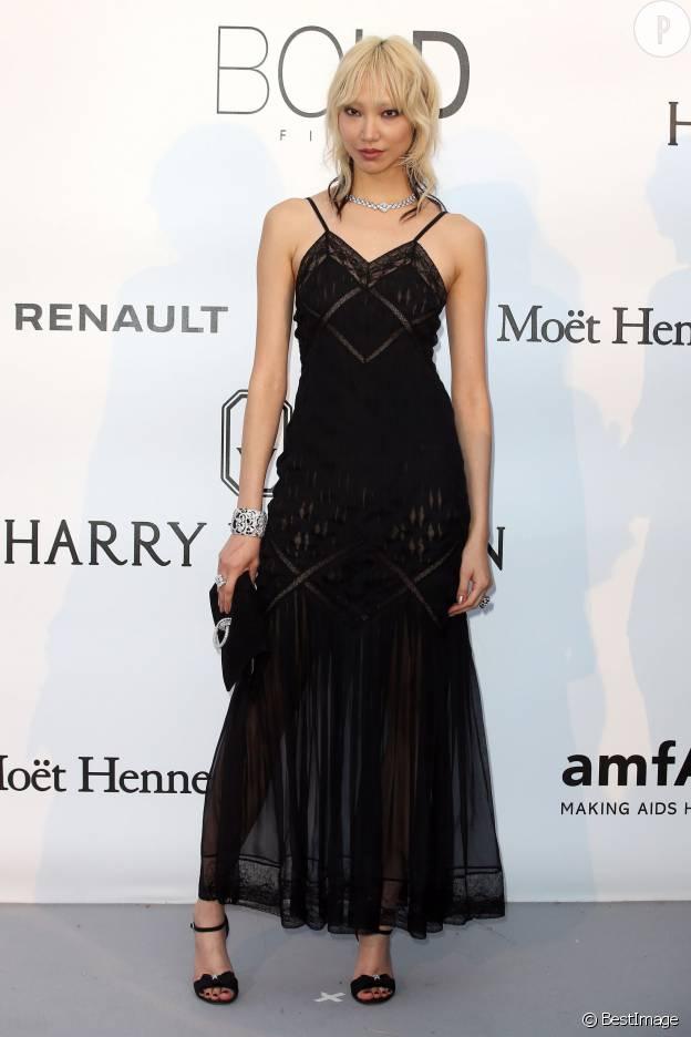 Soo Joo Park fait mouche en Chanel lors du gala de l'AmfAR.