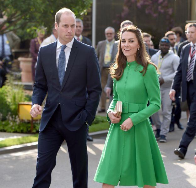 Kate et William, couple rayonnant au Chelsea Flower Show.