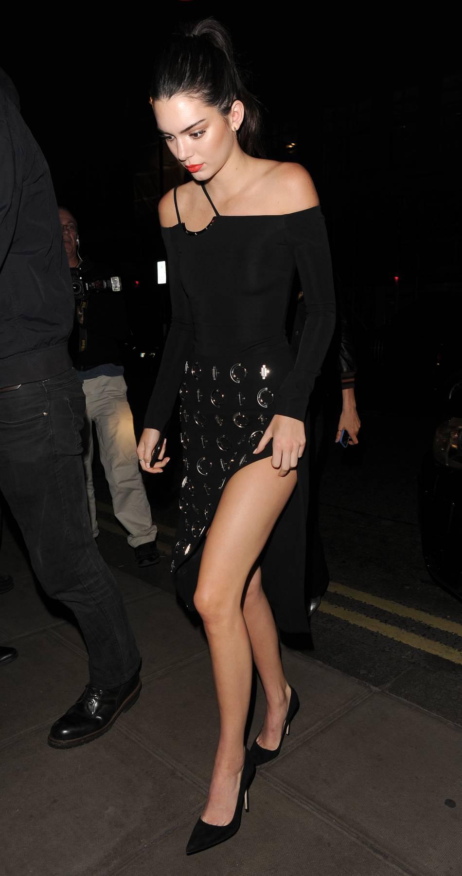 Kendall Jenner n'a pas peur de l'accident culotte.