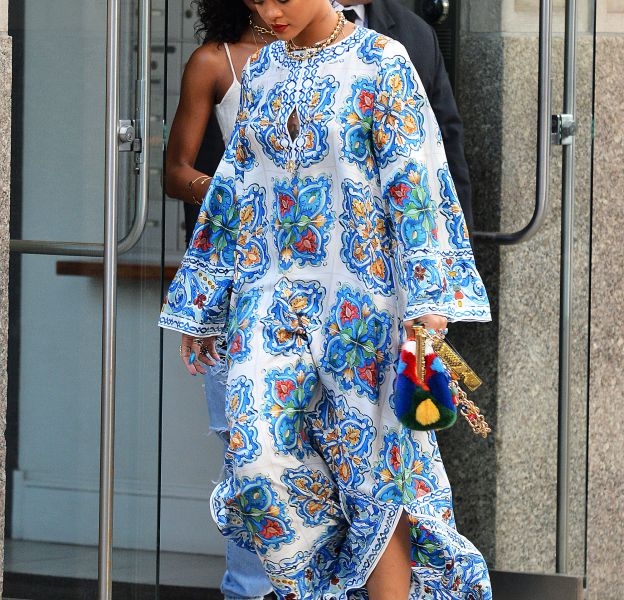 Rihanna ce jeudi 29 mai 2016 à New York.