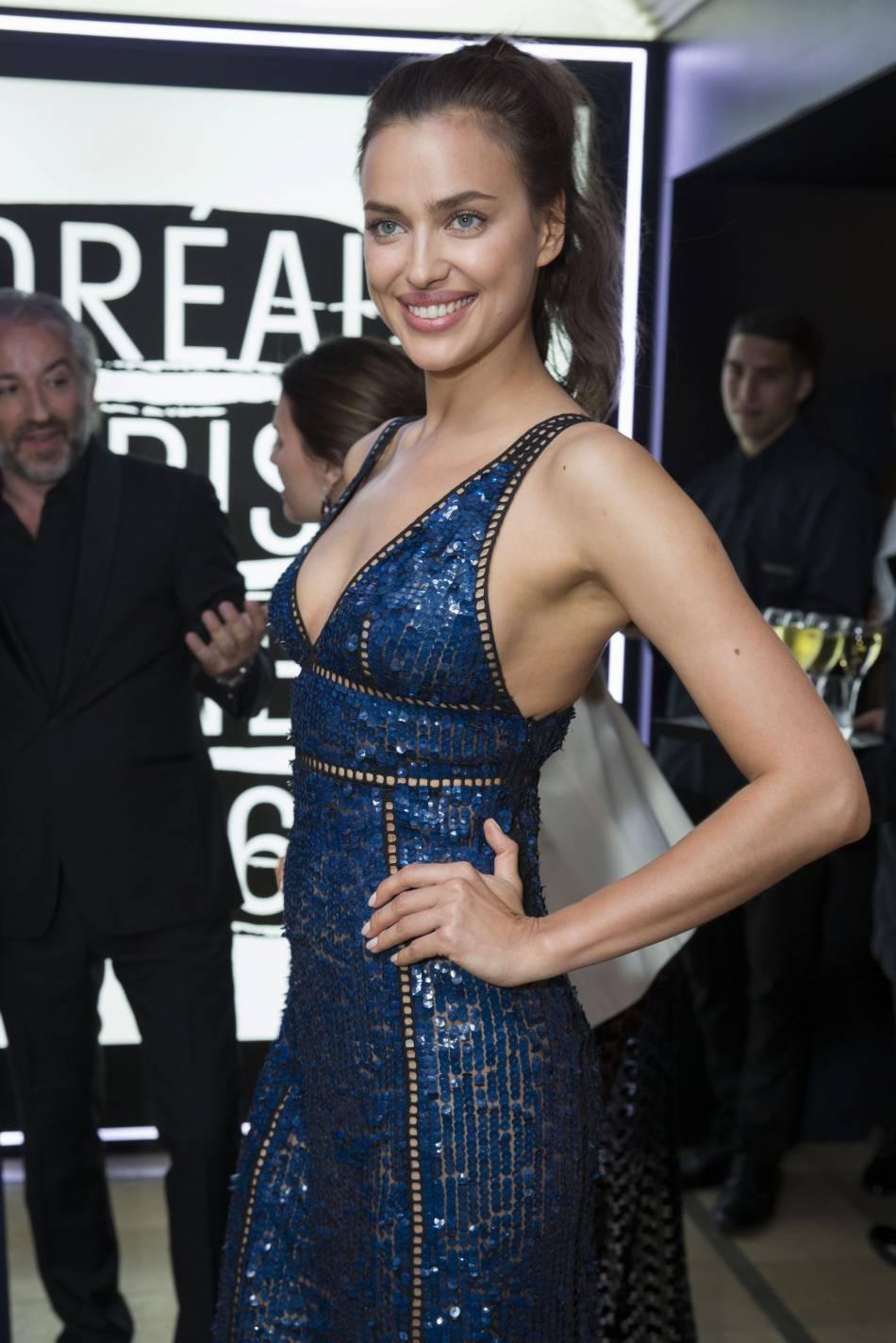 Irina Shayk toujours aussi sexy.