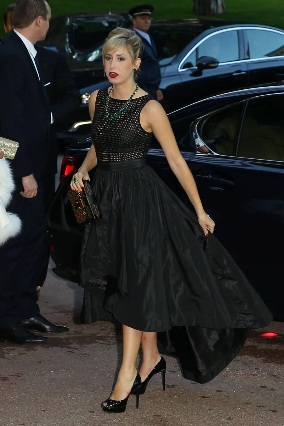 Jazmin Grimaldi, la fille aînée du prince Albert se fait de plus en plus remarquer.