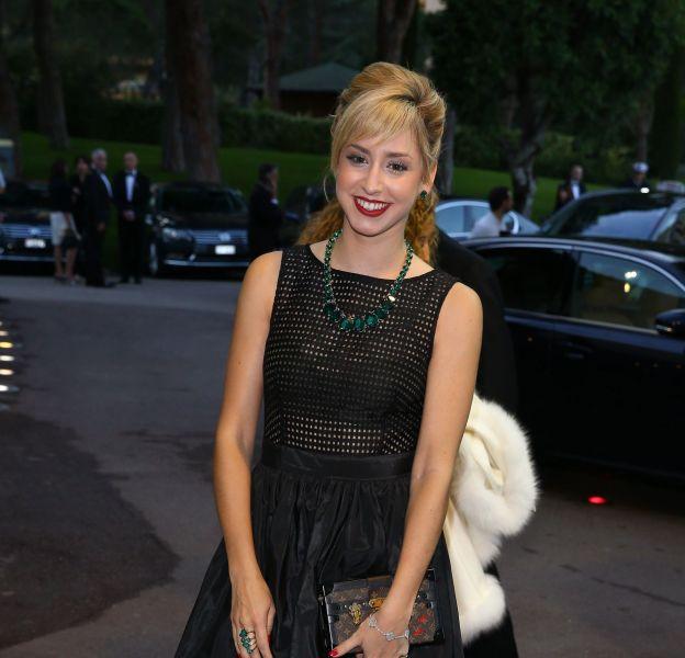 Jazmin Grimaldi arrive à la soirée de l'Automobile Club au Sporting de Monaco le 29 mai 2016.