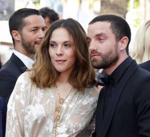 Alysson Paradis et son compagnon Guillaume Gouix lors du 69ème Festival International du Film de Cannes.