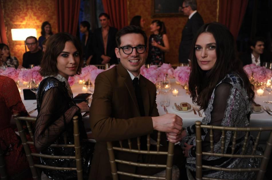 Alexa Chung, Erdem Moralioglu et Keira Knightley à Venise.