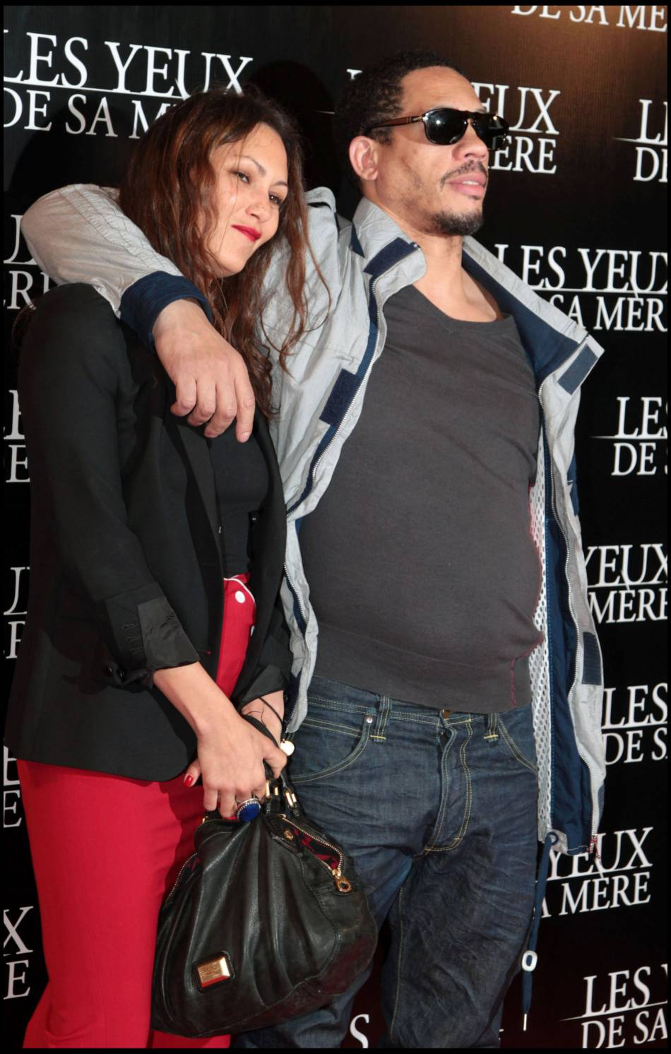 JoeyStarr et Karole Rocher en mars 2011. Ils se sont connus sur le tournage  du